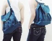 New Year SALE - 20% OFF Pressie in Dark Teal / Backpack / Satchel / Rucksack / Messenger / Shoulder bag / Women / For Her / Gift Ideas