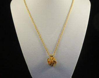 Bloom and Bling Necklace