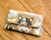 Kitty Cat  - Vinyl Card Wallet