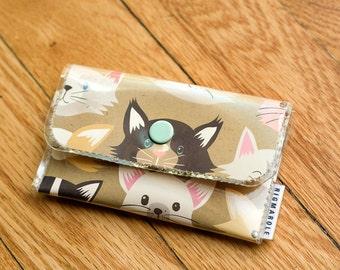 Kitty Cat  - Vinyl Card Wallet