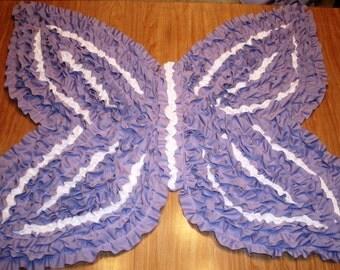 Butterfly-Shaped Rug,NurseryRug,KidsRug, BabyRug,Children'sRug, RuffledRug, PrincessRug, BoyGirlRugShagRug, ShagRagRug,