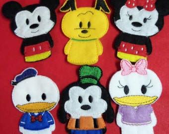 Mouse and Friends Finger Puppets