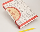 Blank Journal with Lined Pages and Asian Characters