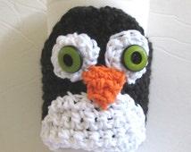 Coffee Cozy Penguin Travel Mug Included