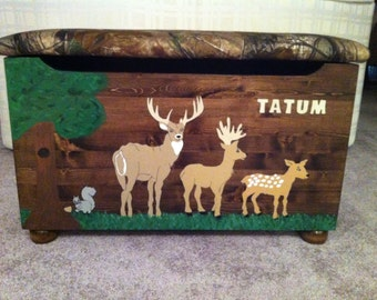 Forest Friends Toy Box