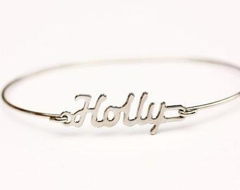 Vintage Name Bracelet - Holly