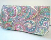 Coupon Organizer /Budget Organizer Holder-Attaches to Your Shopping Cart - Spring PAISLEY