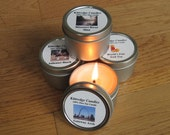 MISSOURI  SAMPLER (four 2-oz soy candles)