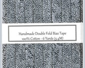Double Fold Bias Tape - Grey Beachcomber - 6 Yards