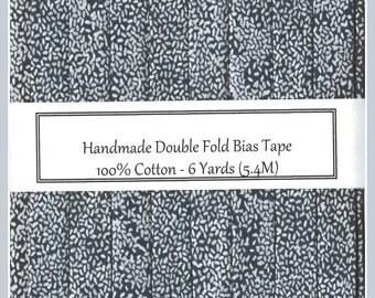Double Fold Bias Tape - Grey Beachcomber - 6 Yards