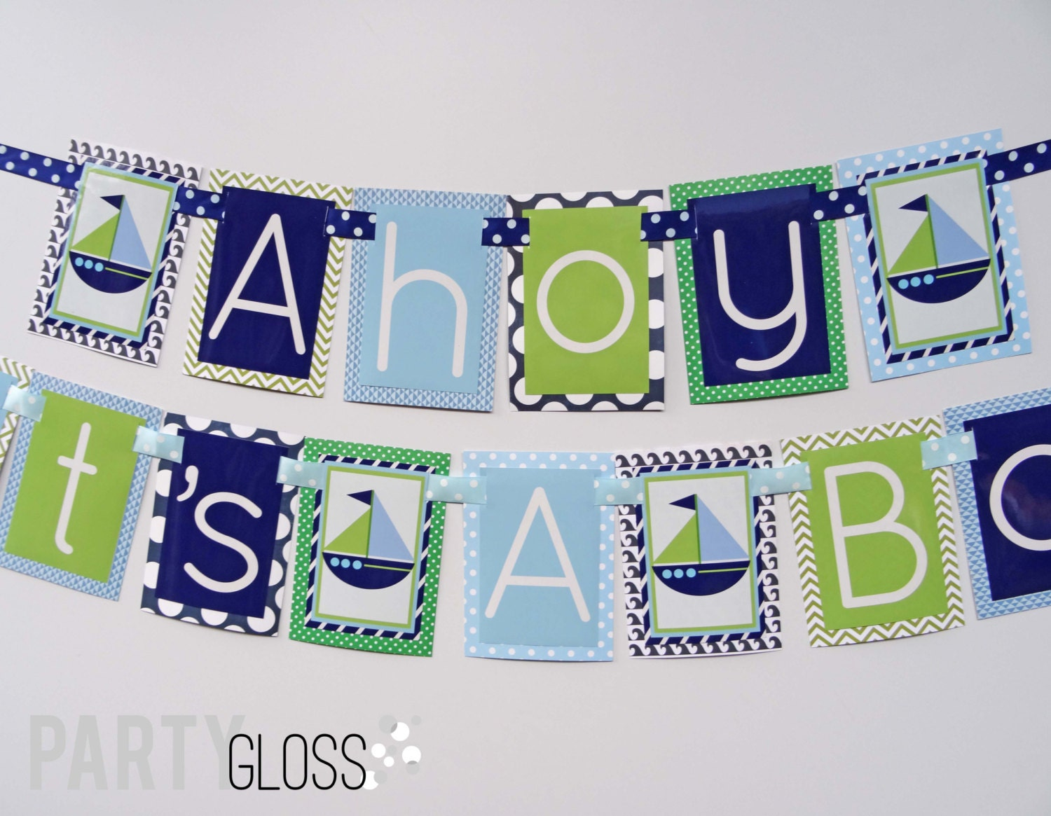ahoy its 39 a boy nautical baby shower decorations navy