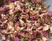 1oz Organic Dried Pink Rose Petals