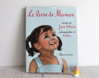 Vintage French Mother Baby book photography - Le livre de Maman