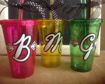 Chalkboard Font Personalized Insulated Tumbler