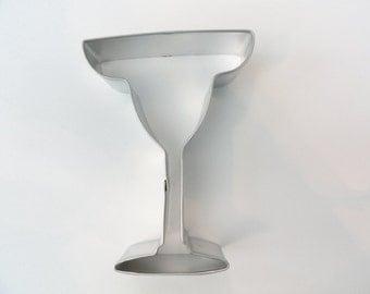 MARGARITA GLASS Cookie Cutter 4 inches