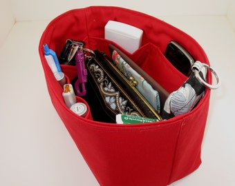 Purse Organizer Insert - Fits LV Speedy 25 - Inside Pockets only - Choose your fabric and color