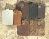 mens leather wallet, slim Leather wallet, Credit Card Holder, minimalist wallet, gift for him, dad, boyfriend, christmas gift for him