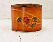 Nature Jewelry Eco Friendly Bracelet - Woodland Earthy Unqiue Leather Cuff - Original Jewelry - Winter Fashion