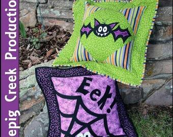 PDF - Bat Splat Pillows
