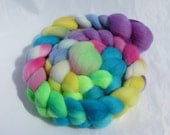 Hand Dyed Falkland Top 3.8 oz - The 80's Called... - Free US Shipping