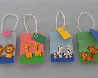 noahas ark favor bags baby shower favor bags