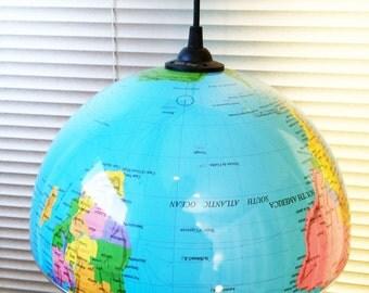 World Globe Light