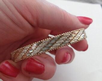 Sterling Silver Massive Ladys Bracelete