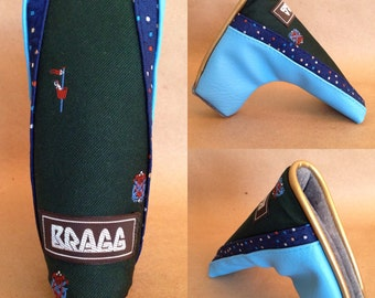 """Special - Putter cover  - """"Bragg"""" - Deluxe headcover"""