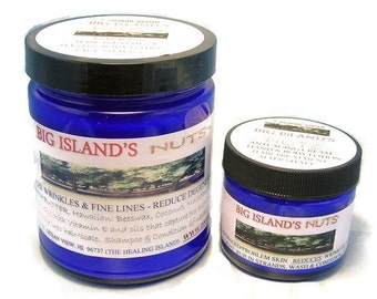 Big Island Nuts Lotion from Hawaii with macadamia, kukui, and kamani nut oils  9 oz size