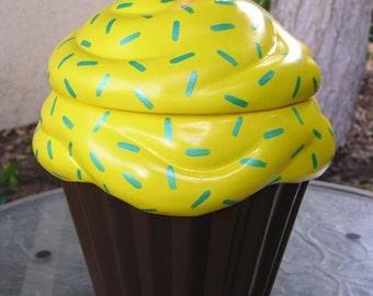 Lemon Royale Cupcake Jar