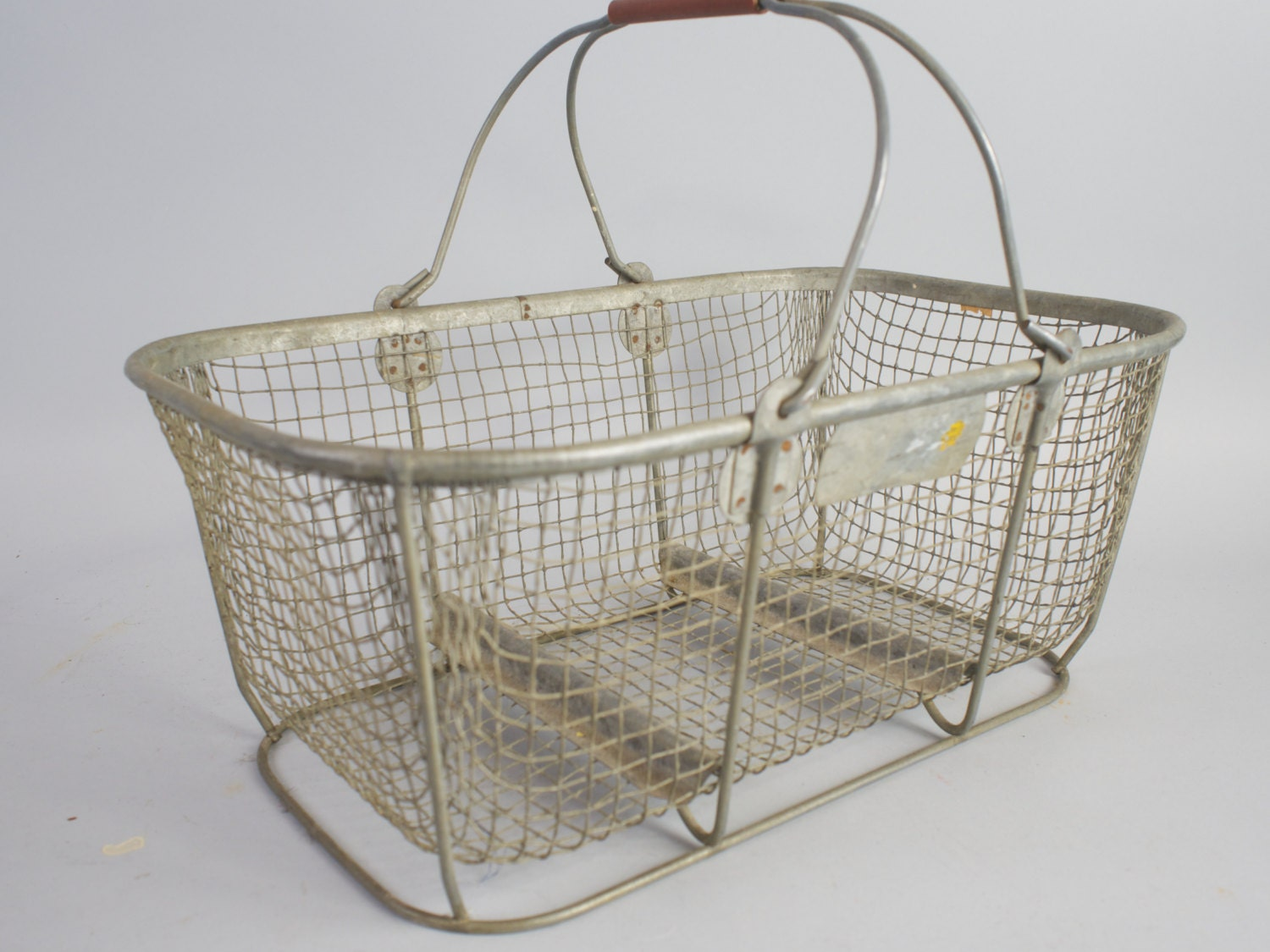 You searched for: wire basket! Etsy is the home to thousands of handmade, vintage, and one-of-a-kind products and gifts related to your search. Wire Basket, Black with Wood Handles, Large, Sturdy, Farmhouse, French Country, Shabby Chic Black wire basket metal basket mail catcher bathroom decor washcloth storage.