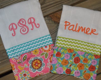 Monogram Boutique Baby Burp Cloth