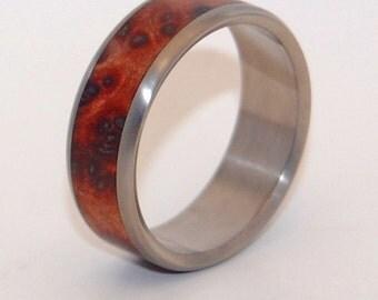 wedding rings, titanium rings, wood rings, mens rings, Titanium Wedding Bands, Eco-Friendly Wedding Rings, Wedding Rings - MUIR
