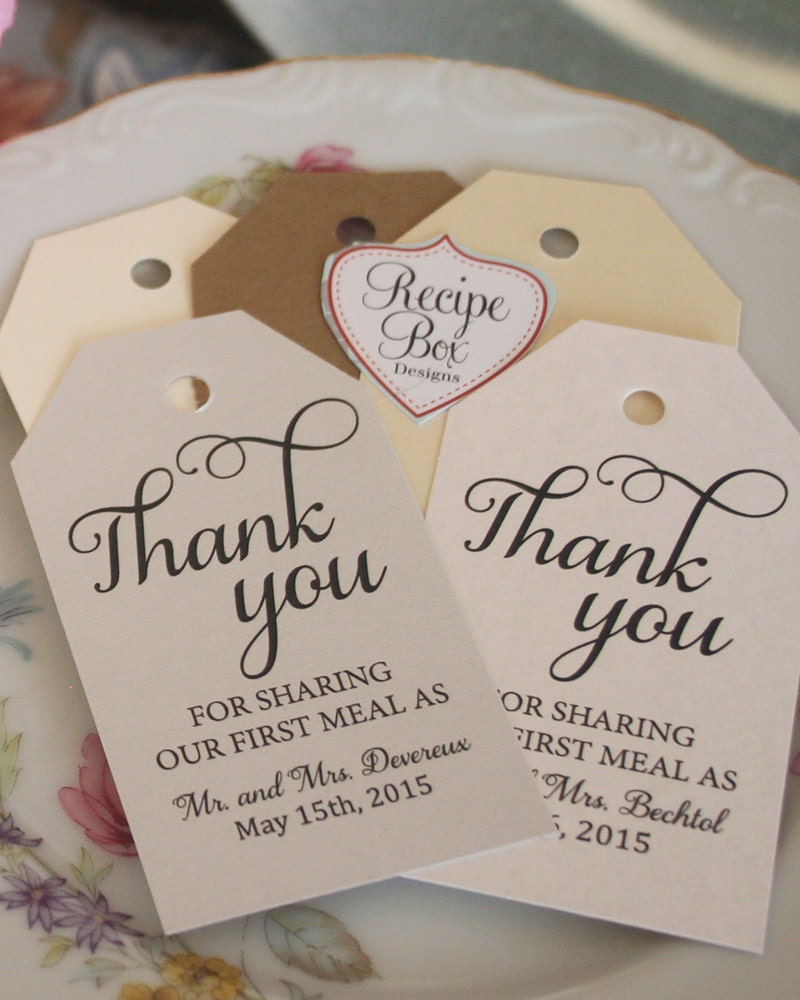 Thank You For Your Purchase Quotes: Thank You For Sharing Our First Meal As Mr And Mrs. Rustic