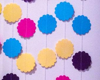 Custom Garlands Color Request Paper Garlands