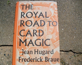 Vintage Book The Royal Road to Card Magic