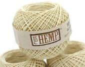 Natural Hemp Twine, .5mm, 325 feet,  Natural Hemp Twine, Beading Twine, Gift Tag String -T95