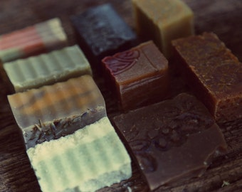 3 or 5 Soaps or Shampoo Bars Samples - you choose which ones