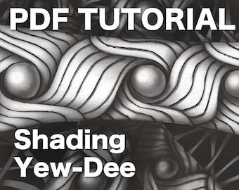 3D Zentangle: Shading Yew-Dee PDF Ebook