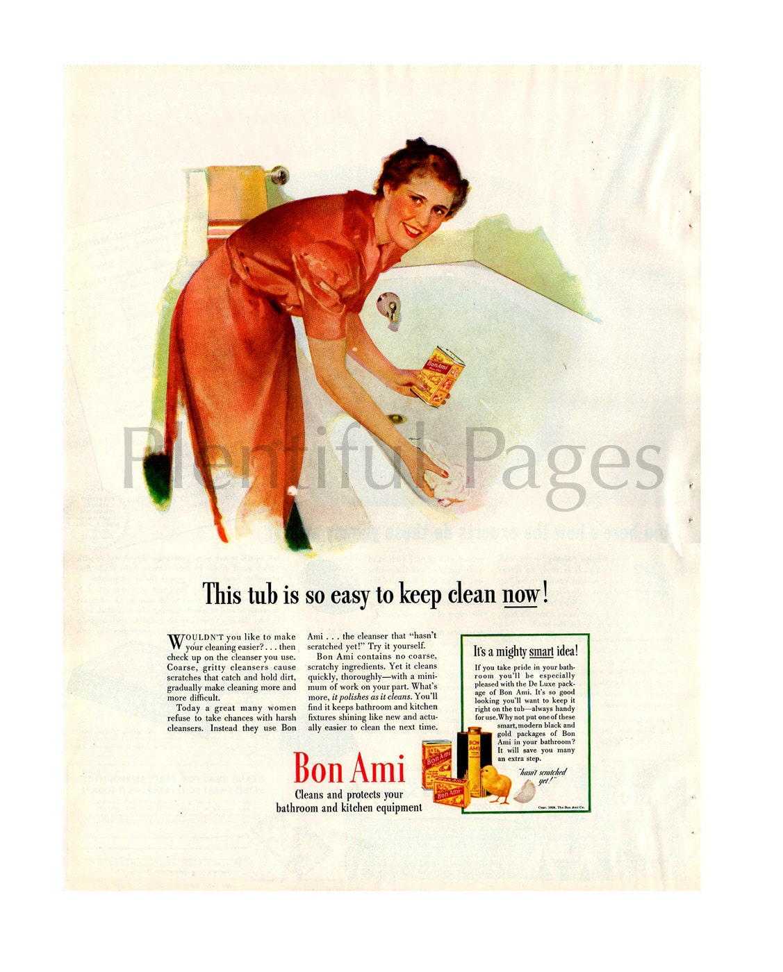 twinkle vintage ad copper cleaner s kitchen 1940 bon ami cleanser vintage ad 1940 s housewife 1940 s bathroom retro bathroom