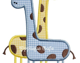622 Giraffes Machine Embroidery Applique Design