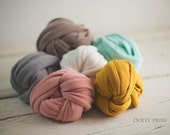 Newborn Wrap - Baby Wrap - Stretch knit wrap - Photography Prop - Choose 1 - WEAVE Knit