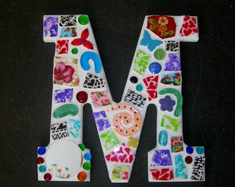 Customized Mosaic Letters