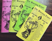The Burning Times #2 Wicca and Witchcraft Zine
