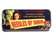 Magnetic Needle Case Needle Slider Case Needles of Doom B Rate Movie Funny Handmade Case