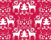 Blend Fabrics - Treelicious Collection - Rudolph in Red - Half Yard