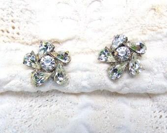 Rhinestone Ice Earrings