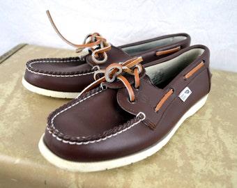 Vintage PONY Deck Boat Slip On Shoes Loafers - Men's Size 7/2