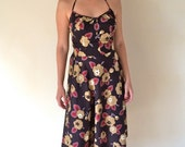 1960s Cotton Sundress Sm