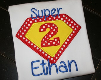 Superhero Birthday Shirt,  Superhero Boy Shirt, Superhero Girl Shirt, Superhero Personalized Shirt, Superhero, Superman Shirt